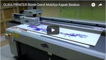 OLBİA PRİNTER Ricoh Gen4 Mobilya Kapak Baskısı